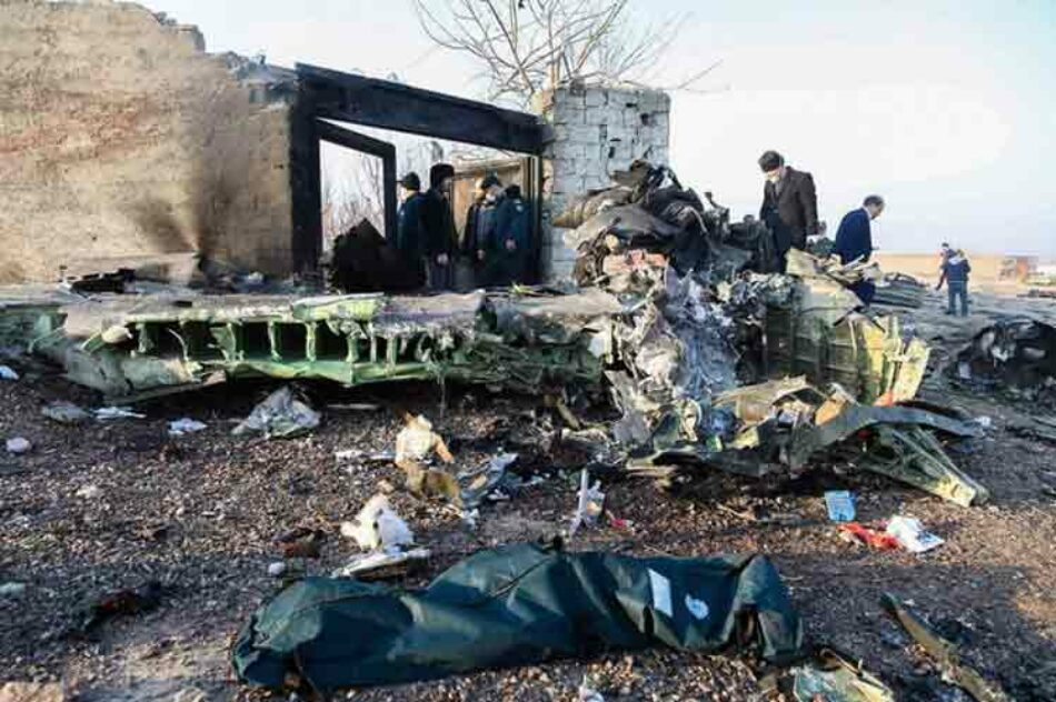 Ucrania suspenderá vuelos a Irán tras desastre aéreo en Teherán