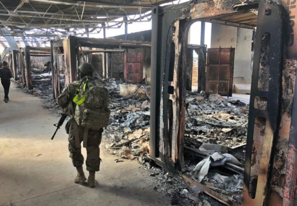 Irak. Soldados estadounidenses se niegan a volver a la base de Ain al Assad
