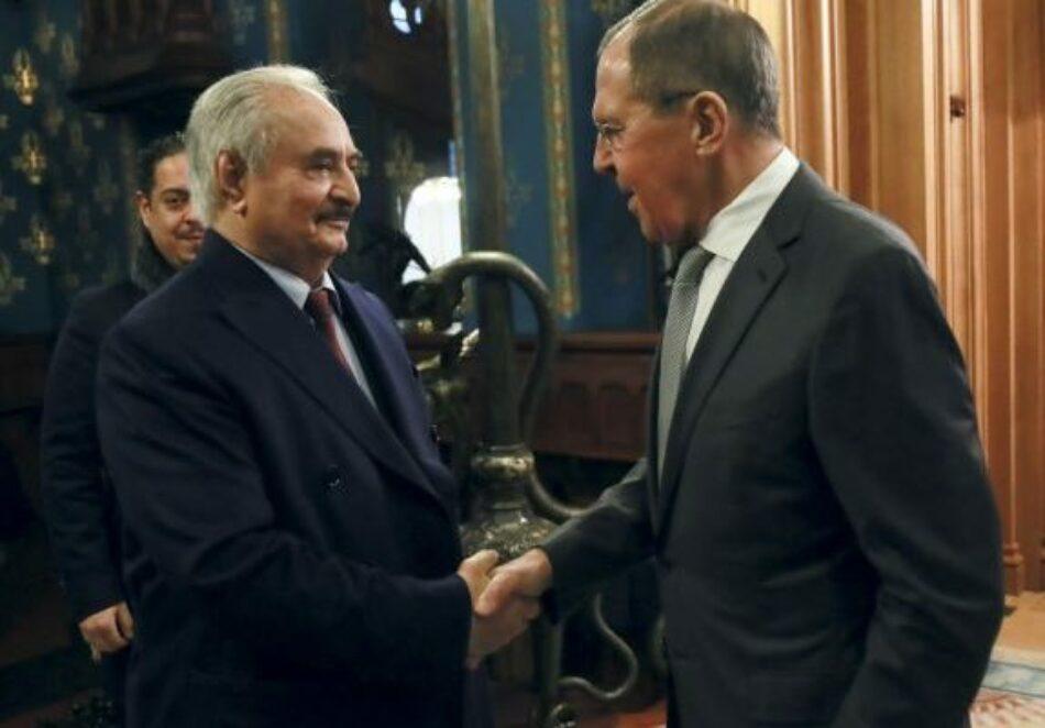 Fracasan las conversaciones de Moscú sobre Libia. Haftar rechaza firmar un alto el fuego