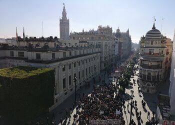 Adelante Sevilla exige desde la movilización de la Marea Blanca la dotación sanitaria necesaria en los barrios a la Junta y el Ayuntamiento