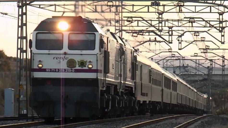 CGT exige al Gobierno que en el Consejo de Ministros del martes, 14 de enero, se actúe urgentemente contra el desmantelamiento del ferrocarril público y social en Andalucía