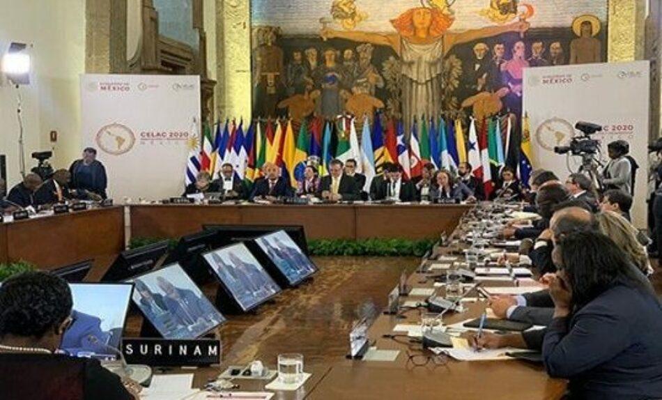 México asumirá presidencia pro tempore de la CELAC