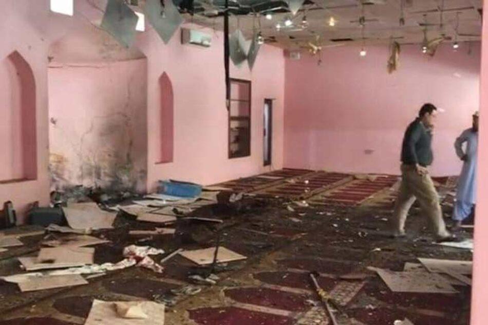 Un atentado en una mezquita de Pakistán causa al menos 14 muertos