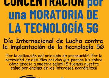 La FRAVM se suma a la movilización internacional del 25 de enero por una moratoria a la implantación del 5G