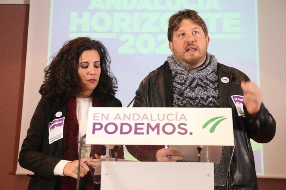 Sí, Podemos Andalucia en movimiento se presenta como  alternativa solvente y  propuestas concretas para construir Podemos Andalucía