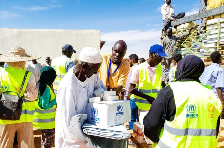 ACNUR pide solidaridad internacional con las personas refugiadas y las comunidades de acogida en Sudán