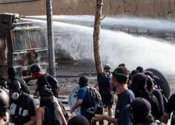Nuevas movilizaciones en Santiago de Chile cuando se cumplen tres meses del estallido social