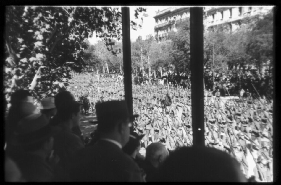 Provocación fascista en el desfile militar del 14 de abril de 1936 (Crónica de los hechos acaecidos ese dia)