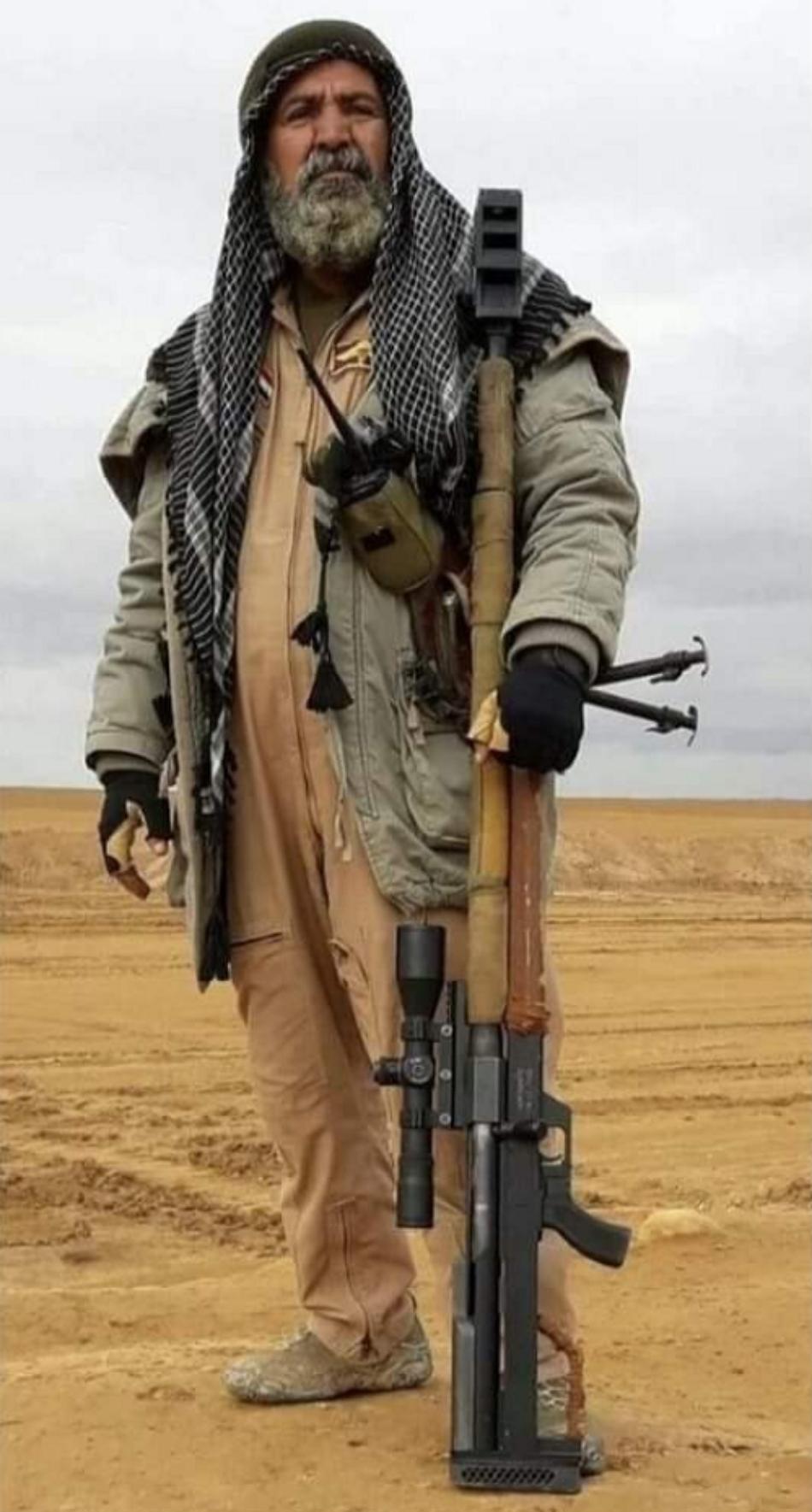 Abu Tashin al-Salhi «Ojo de halcón», el francotirador iraquí que acabó con 384 miembros de ISIS