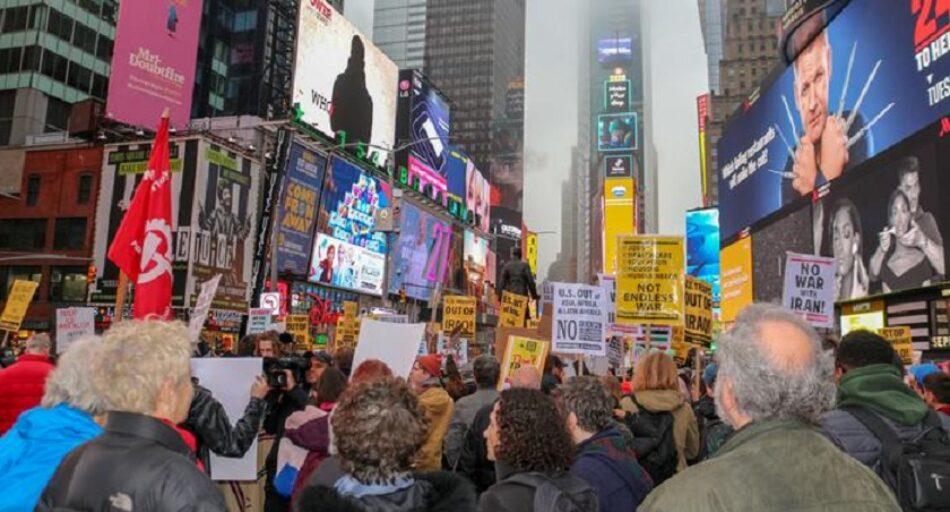 Movilizaciones en 70 ciudades estadounidenses contra la guerra