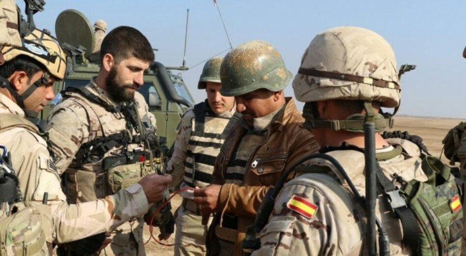 Reclamamos del nuevo gobierno el regreso inmediato de las tropas españolas desplegadas en Irak