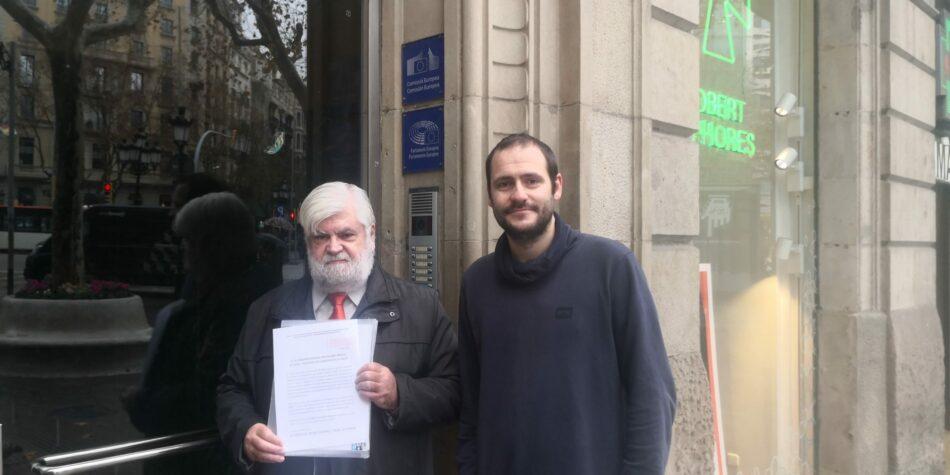 Pirates de Catalunya denuncia la politización de la justicia española ante la Comisión Europea