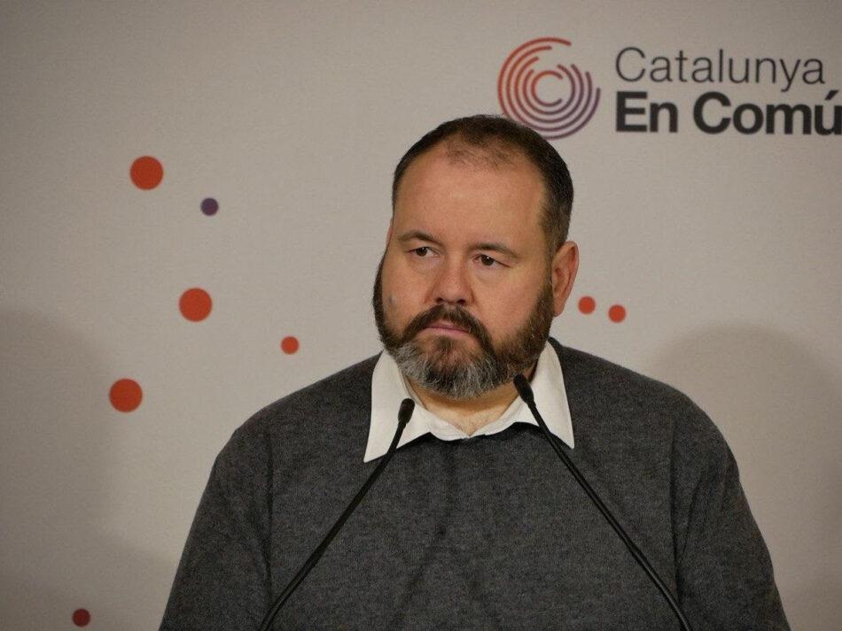 Mena: «Una vegada desbloquejat el Govern de l'Estat toca el segon esglaó: portar la nova etapa progressista al Govern de la Generalitat»