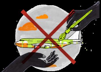 La aviación, el motor de un modelo insostenible de turismo