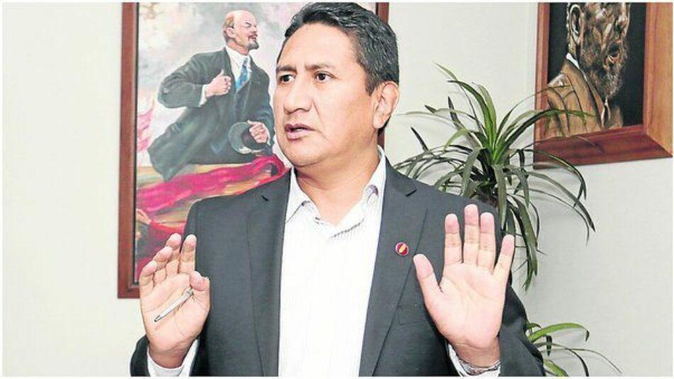 Perú. Elecciones 2020. Vladimir Cerrón: «Nuestra generación tiene que ser anti Trump por dignidad internacionalista»
