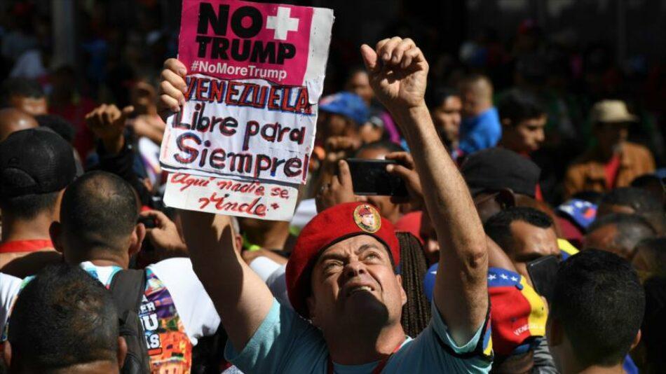 82 % de venezolanos rechaza medidas coercitivas de EEUU según sondeo