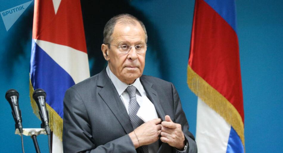 Lavrov: EEUU con sus sanciones ejerce presión contra los países que mantienen su independencia