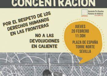 APDHA Sevilla presenta su segundo recurso ante el Tribunal Superior de Justicia de Andalucía por restringirle el derecho de reunión (concentración)