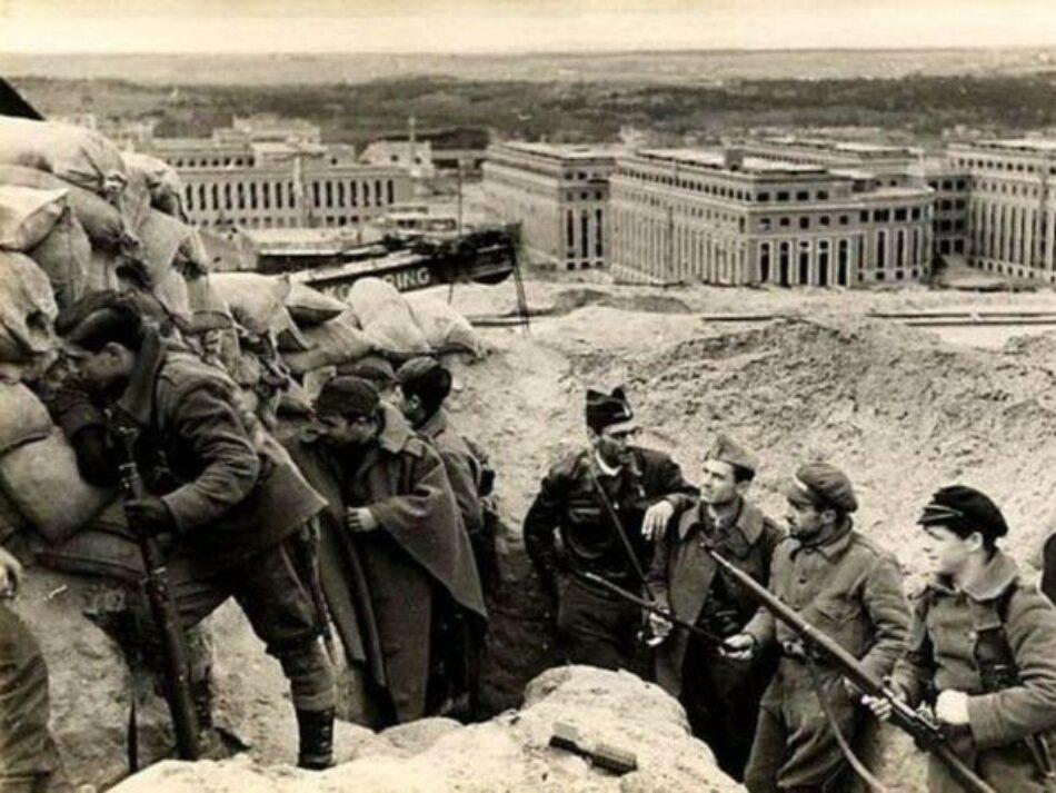 La Ciudad Universitaria: La defensa de Madrid / Principales posiciones e intervenciones