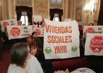 La PAH Corredor del Henares denuncia que los partidos políticos hayan dado la espalda al derecho a la vivienda