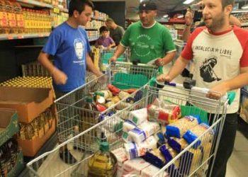 Podemos Andalucía muestra su apoyo a los sindicalistas del SAT encausados por expropiar siete carritos con alimentos