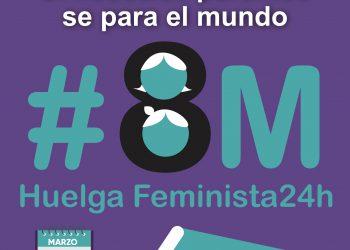 AFUS convoca una semana de protestas para el 8M ante la creciente  ofensiva machista y los retrocesos en derechos