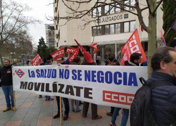 Los sindicatos anuncian nuevas movilizaciones en contra del amianto en el Metro de Madrid