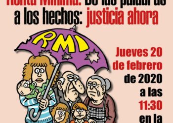 La Plataforma RMI Tu Derecho convoca concentración para exigir un sistema de renta mínima en Madrid que actúe contra la pobreza: 20F, en Sol