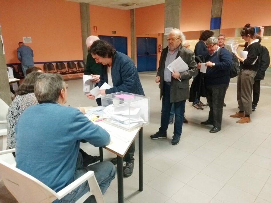 Las asociaciones vecinales de Madrid escogen a la nueva junta directiva de su federación