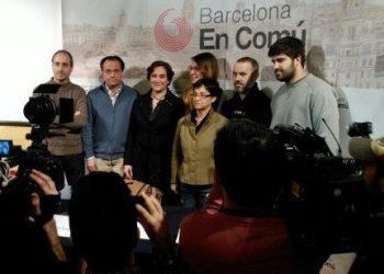 Barcelona En Comú participa a la cimera confederal a Madrid