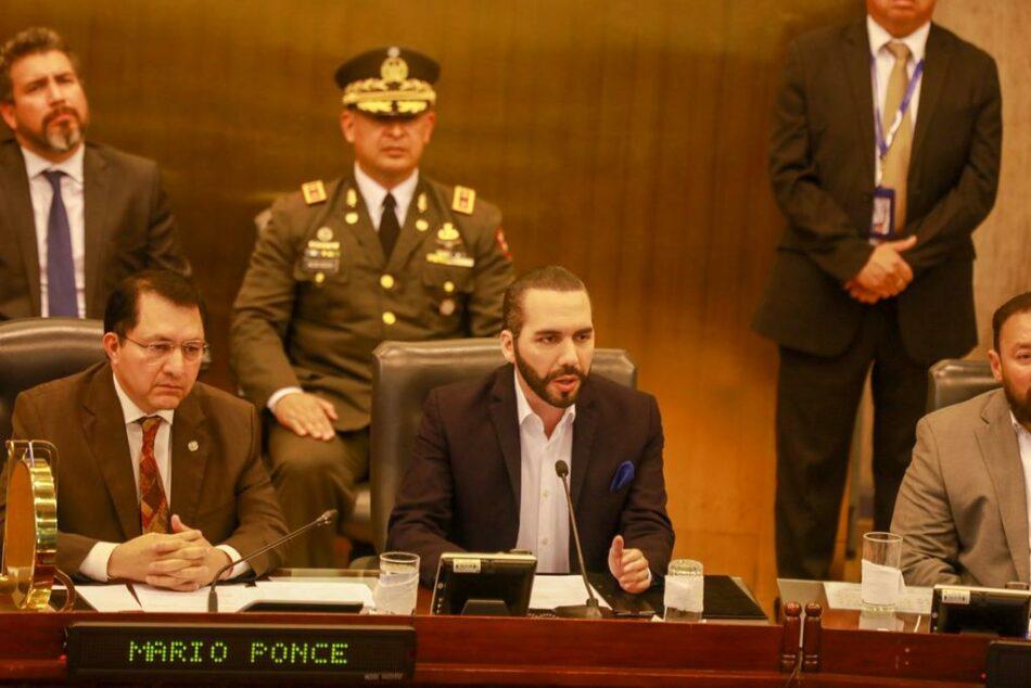 Bukele contra la Asamblea Nacional: Peligro de autogolpe de estado en El Salvador