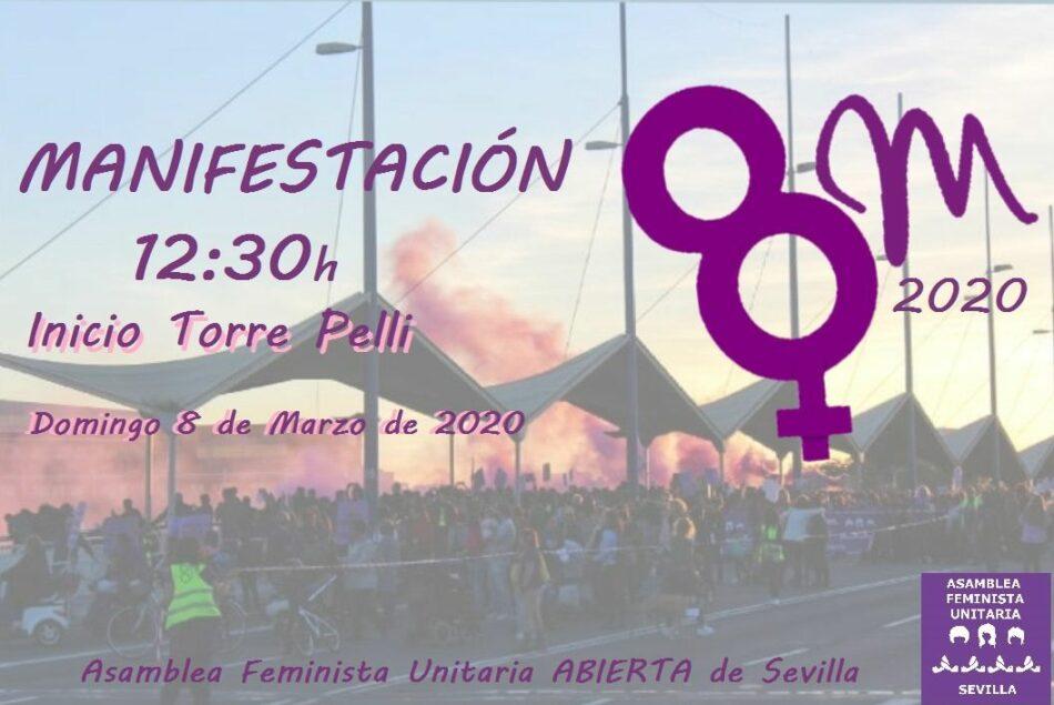 La Asamblea Feminista Unitaria de Sevilla (AFUS) presenta sus acuerdos de cara al próximo 8M