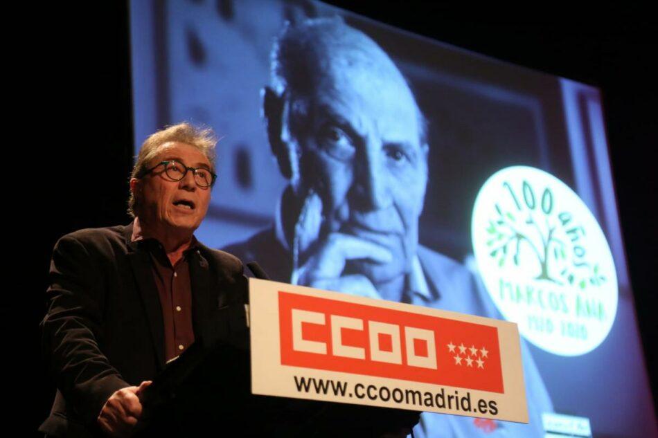 Emotivo homenaje a Marcos Ana, el comunista poeta