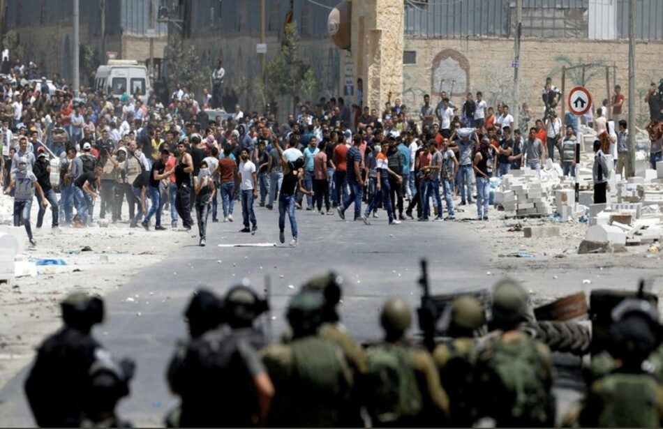 Más de 110 palestinos heridos en enfrentamientos con militares israelíes