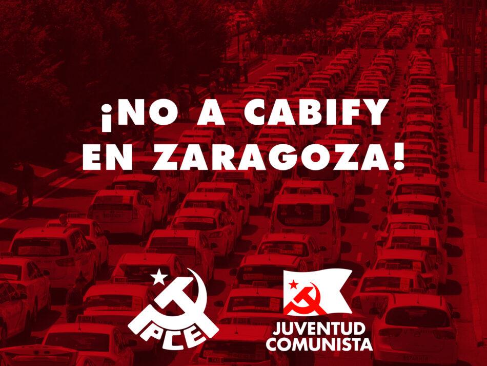 Ante la intención de Cabify de desplegarse en Zaragoza
