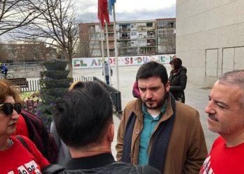 IU Madrid y PCM muestran su apoyo a la movilización de empleados públicos del Ayuntamiento de Leganés