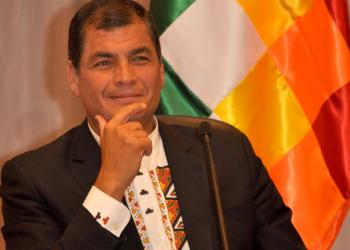 Rafael Correa: «Somos los Estados desunidos de América»