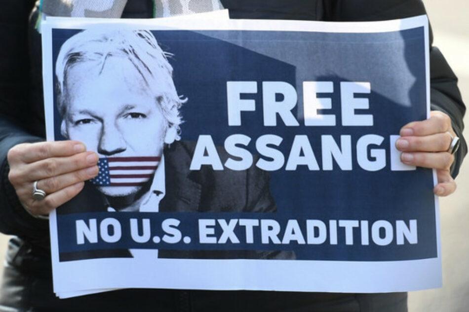 """Comienza la campaña """"No extraditen a Julian Assange"""""""