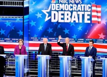 Bloomberg es centro de ataques en debate demócrata de Las Vegas
