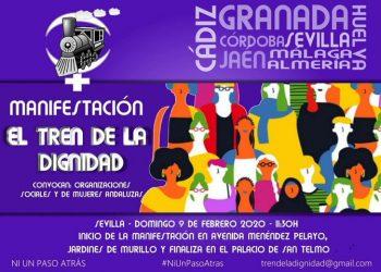 Manifestación del «Tren de la Dignidad»: 9 de febrero en Sevilla