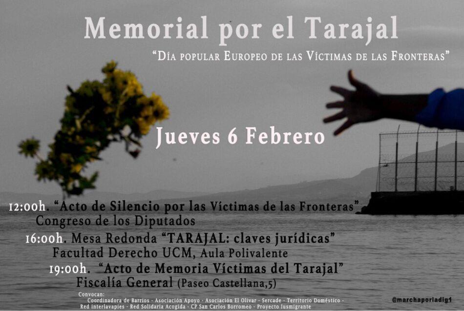 Tarajal: Memorial y VII Marcha por la Dignidad, 6 y 8 de febrero
