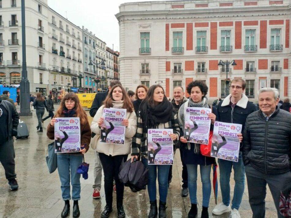 CGT apoya al Sindicato de Estudiantes y muestra su repulsa ante los mensajes machistas que han recibido