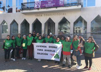 La Coordinadora Vivienda Madrid 15M – PAH exige una solución para Khadija