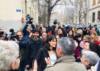Juicio contra Isa Serra tras la protesta en un desahucio contra una persona discapacitada en Lavapiés: «todas las acusaciones son falsas y carecen de toda prueba»