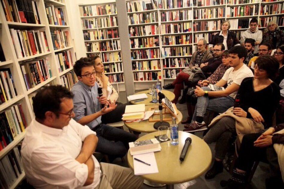 Errejón, contra el delito de apología del Franquismo: «las restricciones a la libertad de expresión se convierten en un boomerang»