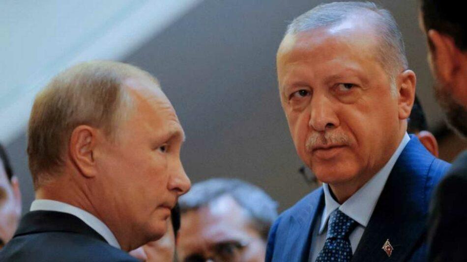 Erdogan afirma que le propuso a Putin dejarlo «cara a cara» con las autoridades sirias