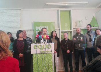 EQUO Berdeak denuncia que la dirección federal de Podemos ha vetado al partido verde vasco en la coalición Elkarrekin Podemos para las elecciones autonómicas