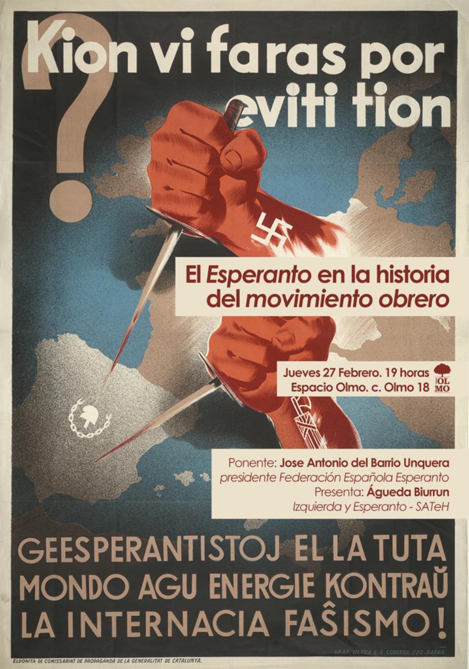 «El Esperanto en la historia del movimiento obrero»: 27-F