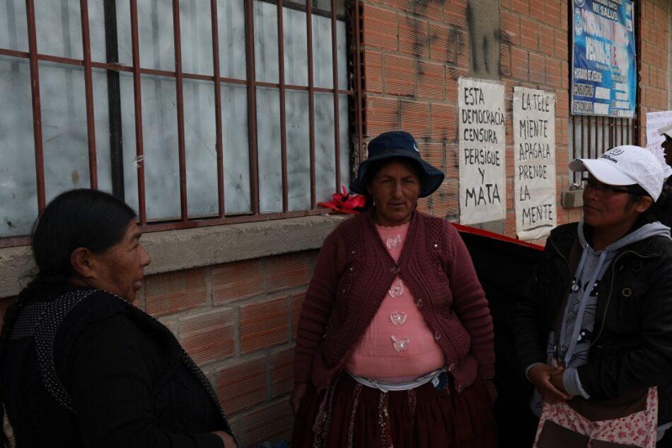 La matanza de Senkata, Distrito 8: las víctimas hablan desde La Paz (Bolivia)