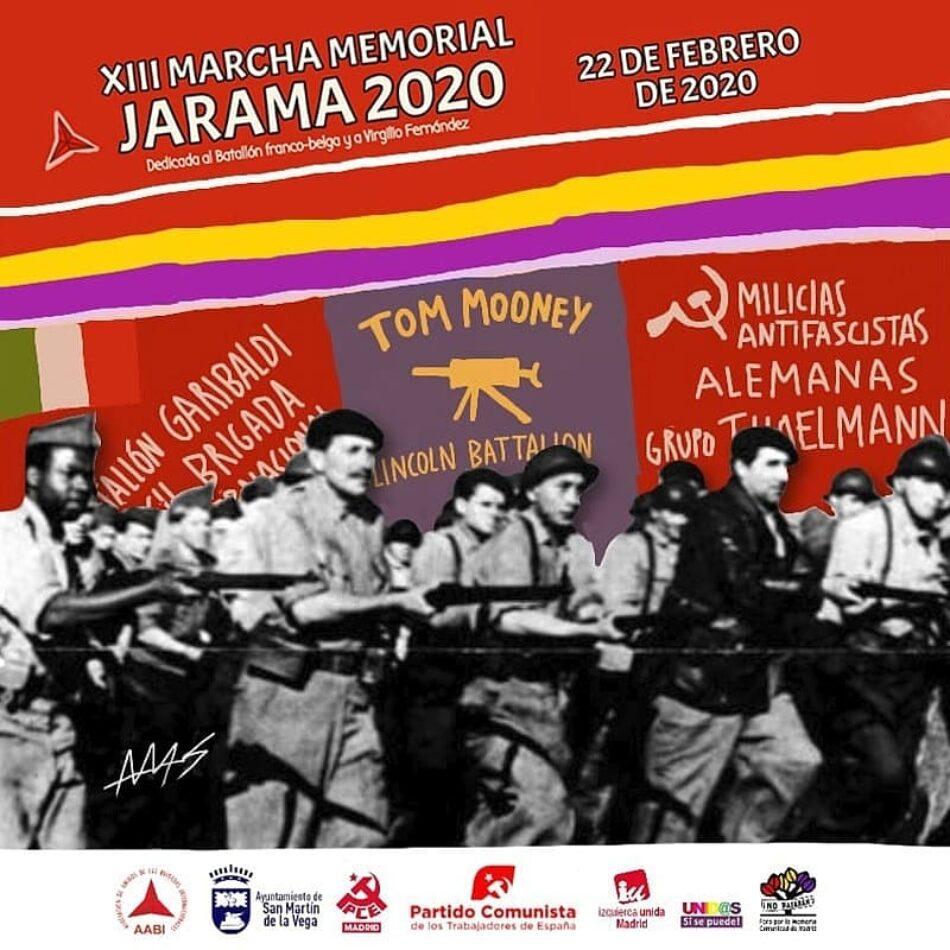 XIII Marcha Memorial Jarama 2020: 22-F